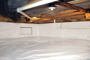 Crawl Space Repair After in Ames