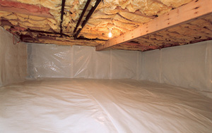CleanSpace® vapor barrier after in Ames