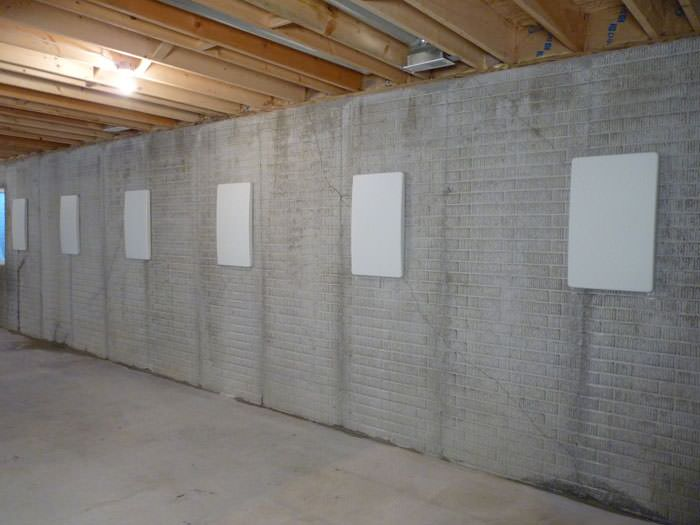 Wall Anchor Covers Covering A Foundation Wall Repair System In Ottumwa,  Newton, Indianola, ...