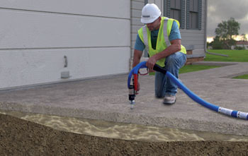 How Polylevel Polyurethane Concrete Lifting Works